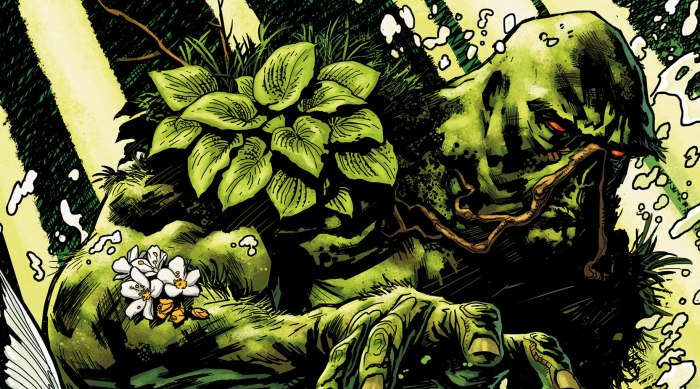Swamp Thing par Yanick Paquette (2011)
