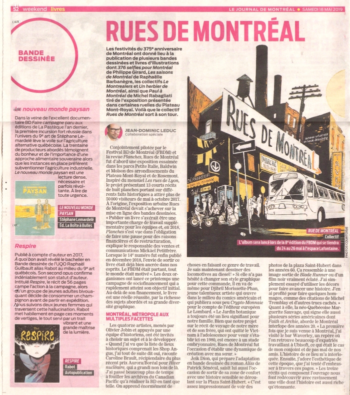 Journal de montreal_mai 2019